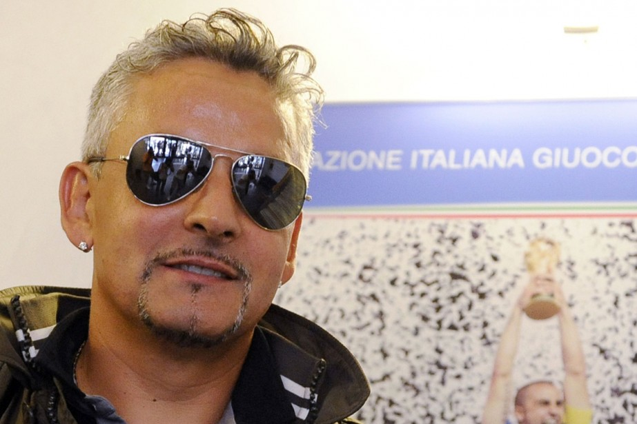 Roberto Baggio... (Photo: AFP)