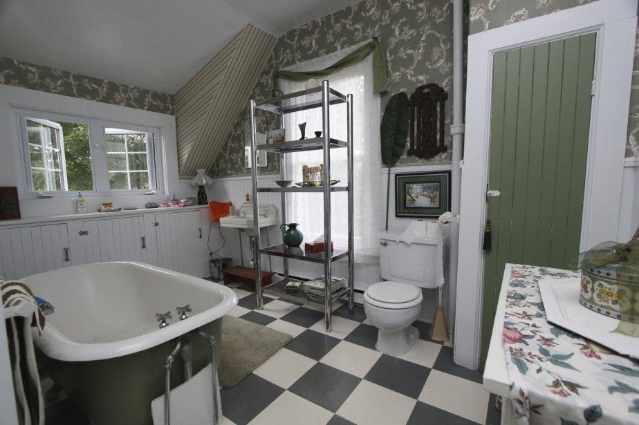 La maison blanche au canada cyberpresse for Elements de salle de bain