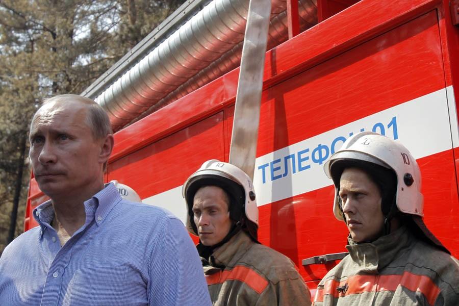 Le premier ministre russe, Vladimir Poutine, a rencontré... (Photo: Reuters)