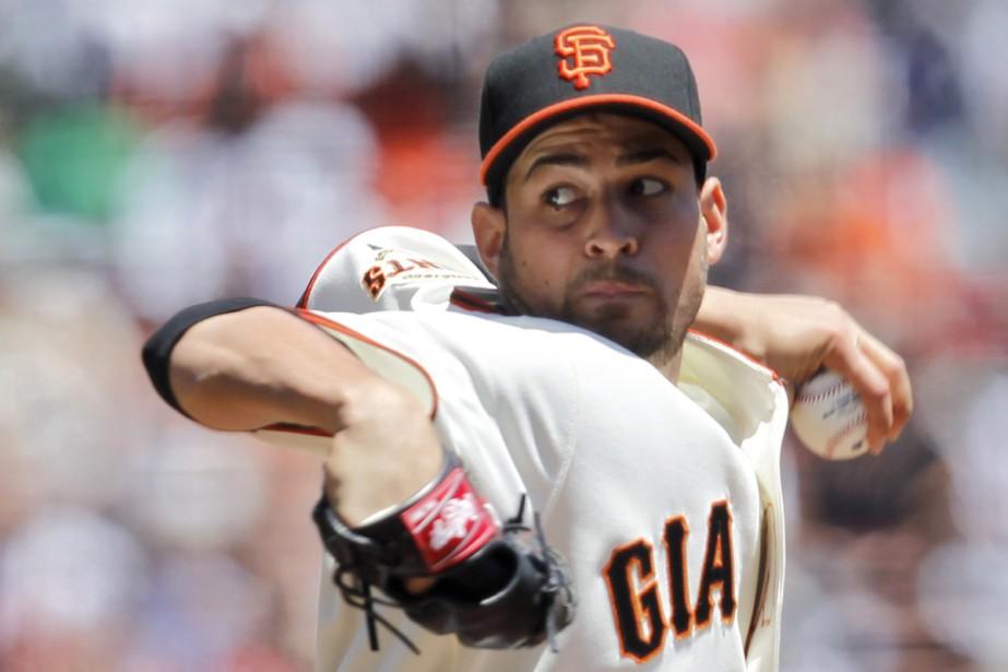 Jonathan Sanchez... (Photo: Reuters)