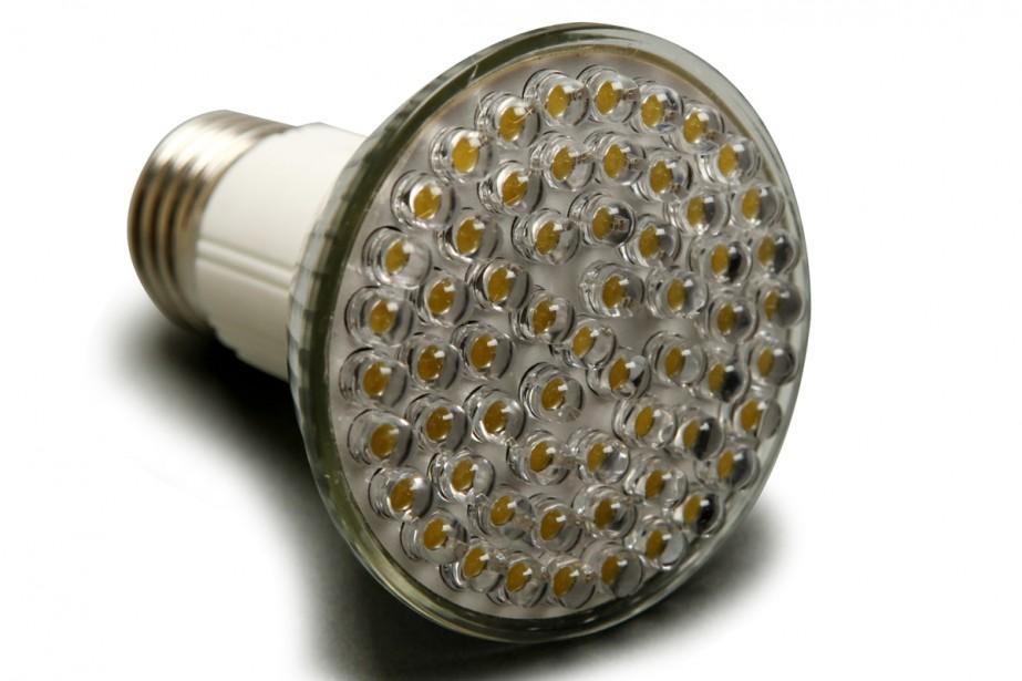 Ampoule à diodes électroluminescentes.... (Photo: archives La Presse)