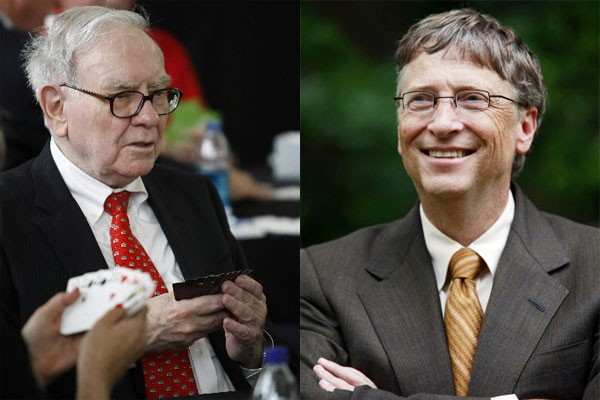 Warren Buffett et Bill Gates... (Photos: Reuters)
