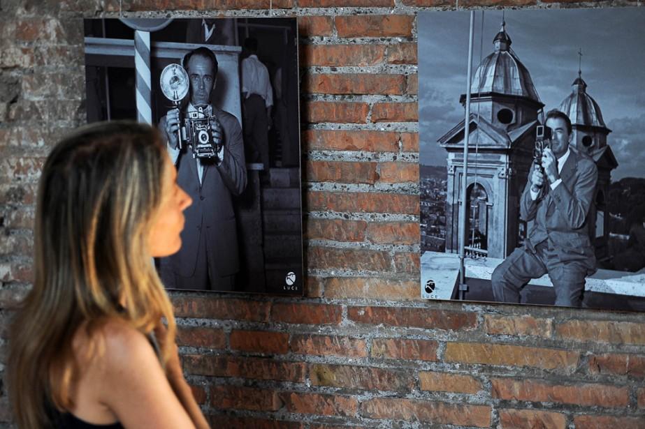 Federico Fellini, Anna Magnani, Marcello Mastroianni... Tous les... (Photo: AFP)