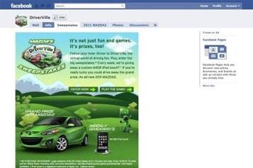La semaine dernière, une autre marque japonaise, Mazda,... (Photo: http://www.facebook.com/Driverville#!/Driverville)