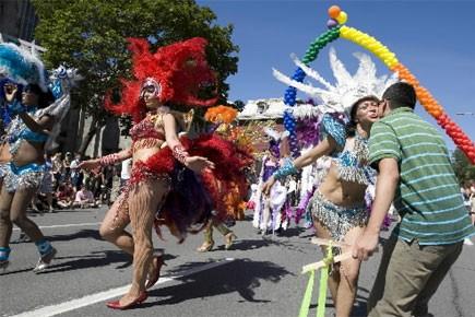 Le défilé de la Fierté gaie se déroulera... (Photo: Robert Skinner, La Presse)