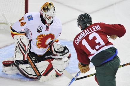 Les Flames et le Canadien sont les deux... (Photo: PC)