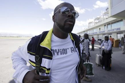 Le chanteur Wyclef Jean est rentré à Port-au-Prince... (Photo: AP)