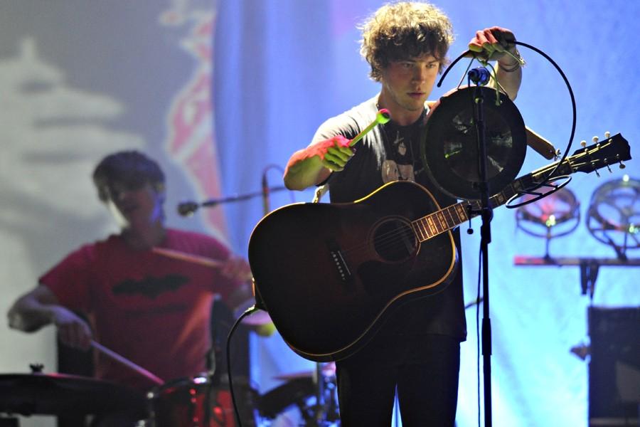 Le chanteur de MGMT, Andrew Van Wyngarden, aurait... (Photo: Bernard Brault, La Presse)