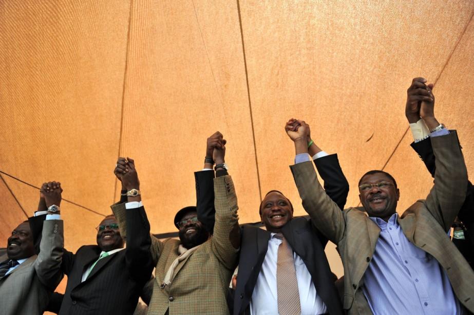 Des partisans du «oui» se réjouissent de leur... (Photo: AP)