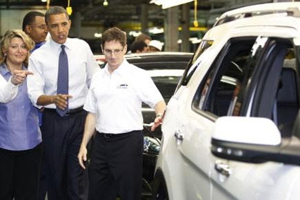 Barack Obama a indiqué que ce prêt garanti... (Photo: Reuters)