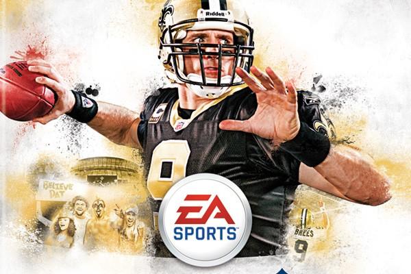 C'est le quart-arrière Drew Brees, des Saints de... (Photo fournie par EA Sports)