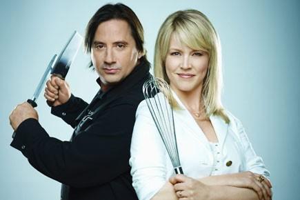 Les animateurs de l'émission Les chefs!, Daniel Vézina... (Photo: fournie par Radio-Canada)