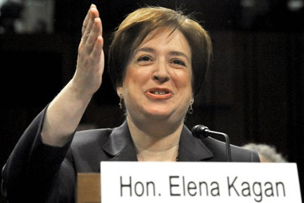 Elena Kagan... (Photo: AFP)