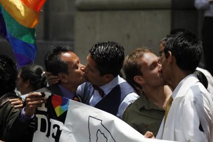 Les premiers mariages homosexuels à Mexico ont été... (Photo: AP)