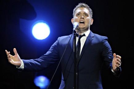 Chanter, c'est bien, mais charmer, c'est... (Photo: Bernard Brault, La Presse)