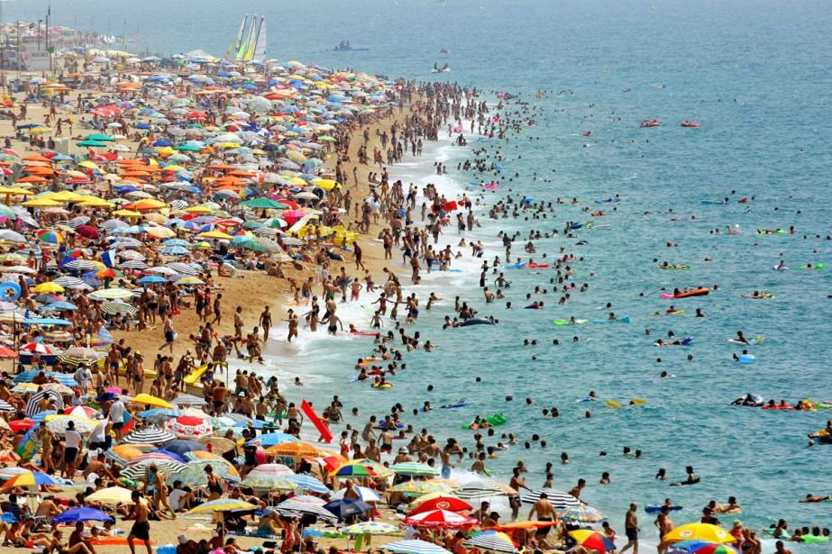 Les plages d'Espagne ne sont pas à l'agenda... (Photo: archives AP)
