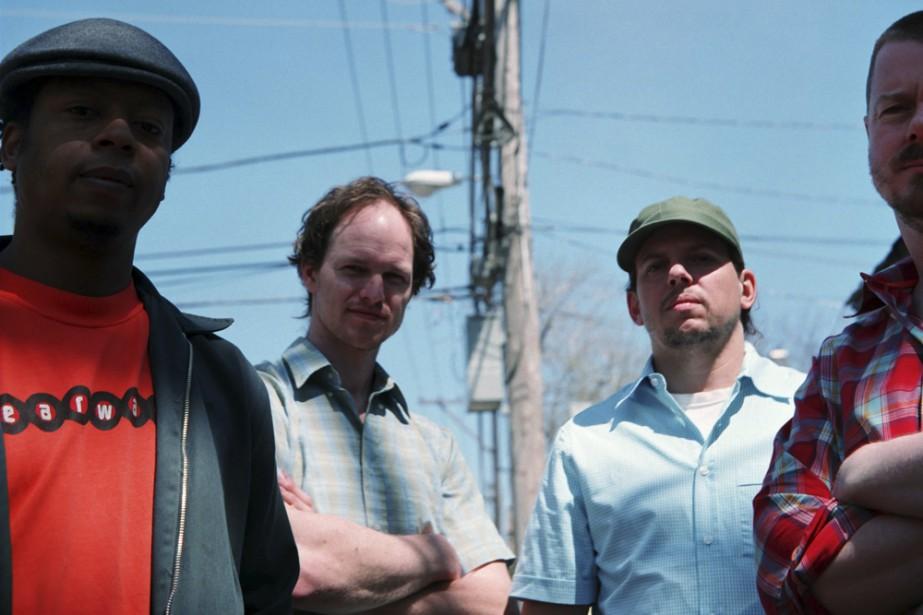 Le saxophoniste Ken Vandermark (à droite sur la... (Photo: Joel Wanek, fournie par le groupe)