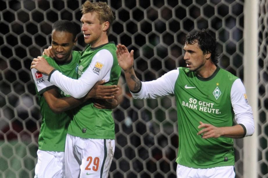 Le Werder Brême (sur la photo) et la... (Photo: AFP)