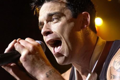 Robbie Williams... (Photo: AFP)