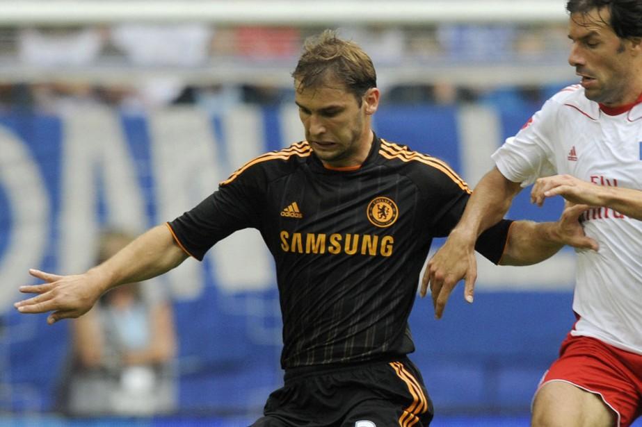 Le défenseur de chelsea, Branislav Ivanovic... (Photo: AFP)