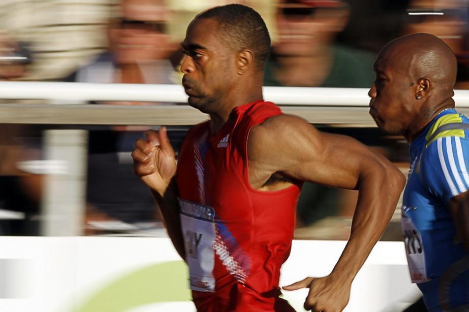 Tyson Gay... (Photo: AFP)