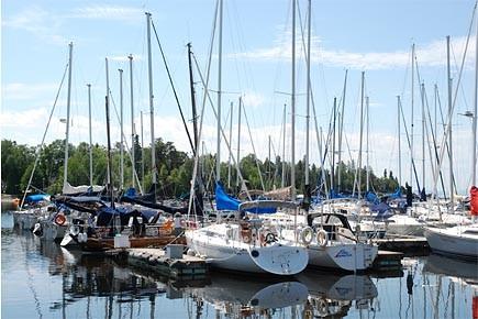 Marina de voiliers à Saint-Gédéon.... (Photo: Steeve Tremblay, archives Le Quotidien)