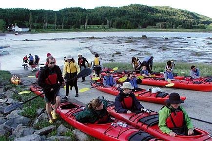 Cours d'initiation au kayak de mer au Parc... (Photo: Anne Desjardins)