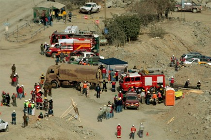 L'accident, survenu jeudi après-midi selon la direction de... (Photo: AP)