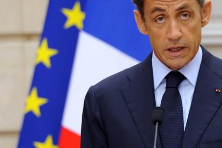 «Les déclarations de Nicolas Sarkozy n'ont pas vraiment... (Photo: Philippe Wojazer, Reuters)