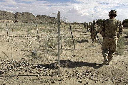 Deux soldats danois ont été tués et trois blessés,... (Photo: archives Reuters)