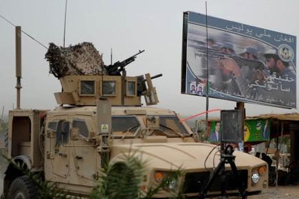 Les talibans qui avaient été chassés de Kaboul... (Photo: AFP)