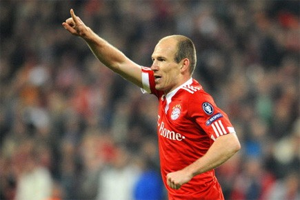 Arjen Robben... (Photo: AFP)