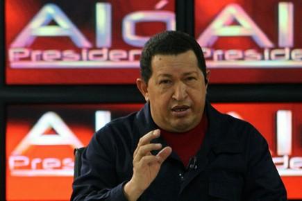 Hugo Chavez a condamné de récentes déclarations de... (Photo: AFP)
