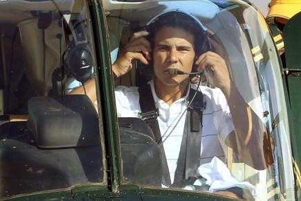 Rafael Nadal a été transporté en hélicoptère pour... (Photo: Reuters)