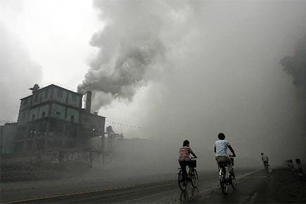L'industrialisation rapide de la Chine au cours de... (Photo: archives AFP)