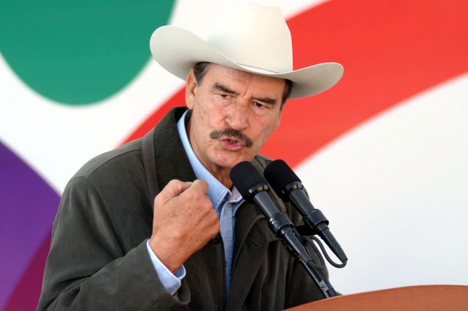 L'ancien président mexicain Vicente Fox.... (Photo: AP)