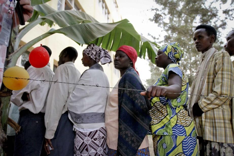 Quelque 5,2 millions de Rwandais sont appelés aux... (Photo: AP)