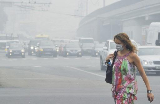 Les Moscovites n'avaient jamais connu une telle vague... (Photo: AFP)