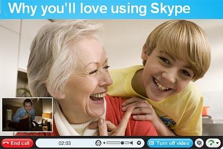 Skype, groupe leader de la téléphonie par internet, a annoncé... (www.skype.com)