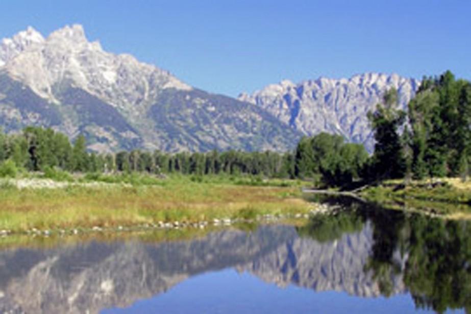Une vaste portion du Grand Teton national park... (Photo: www.nps.gov)