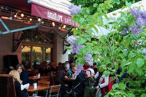 Le café Anna Blume... (Photo: Sonia Sarfati, La Presse)