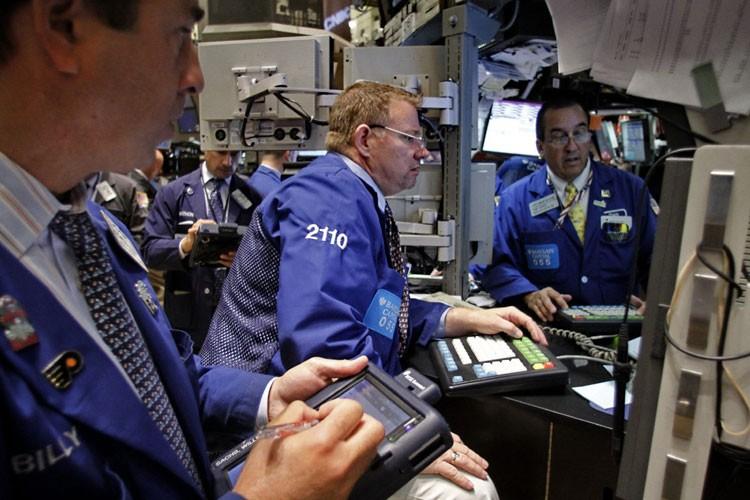 La Bourse de New York a vivement rebondi vendredi, réconfortée par... (Photo: AP)
