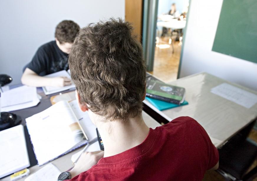 Souvenons-nous d'un temps pas si lointain où l'élève... (PHOTO: FRANÇOIS ROY, ARCHIVES LA PRESSE)