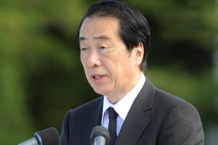 Le Premier ministre du Japon, Naoto Kan.... (Photo: AFP)