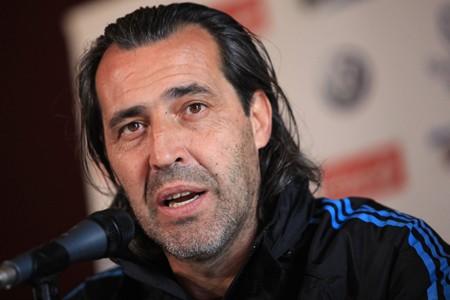L'entraîneur par intérim de l'Argentine, Sergio Batista.... (Photo: AFP)