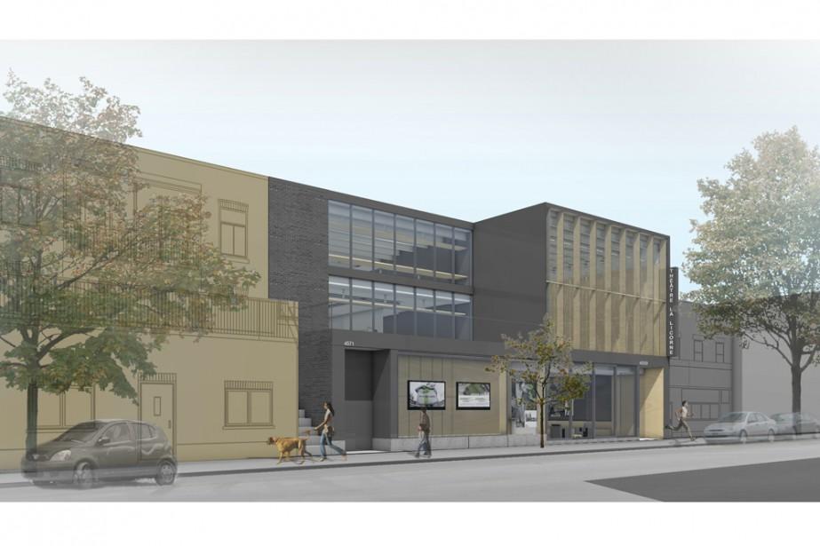 Voici à quoi devrait ressembler le futur Théâtre... (Photo: fournie par La Licorne)