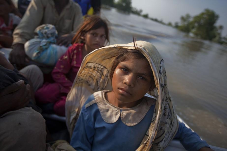 Cette jeune fille a été forcée de fuir... (Photo: Reuters)