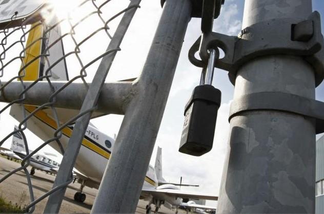 Sans permis, une trentaine d'appareils d'Aéropro sont cloués... (Photothèque Le Soleil, Laetitia Deconinck)