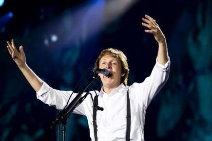 Dimanche dernier, Paul McCartney a accordé une entrevue... (Photo: Archives La Tribune)