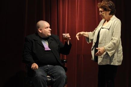 Le comédien Francis Bourgea -qui campe dans La... (Photo: Bernard Brault, La Presse)